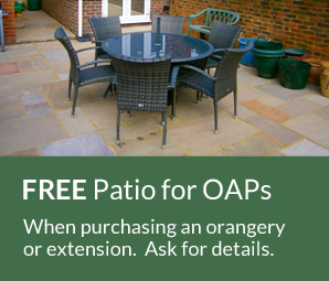 FREE Patio for OAPs